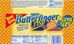 Butterfinger Crisp King Size