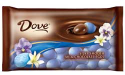 Dove Dark Chocolate Eggs 4 Pack
