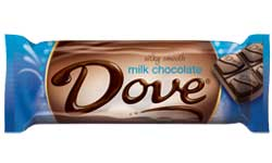 Dove Milk Chocolate Singles Bar