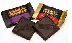 Hersheys Extra Dark Chocolates