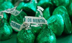 Hersheys Kisses Green