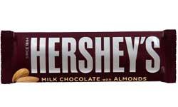 Hersheys Milk Chocolate with Almonds Bar