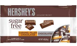 Hersheys Sugar Free Chocolate Candy