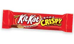 Kit Kat Extra Crisp Wafers in Milk Chocolate Bar