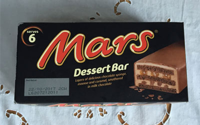 Mars Frozen Dessert Bar