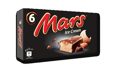Mars Ice Cream bars