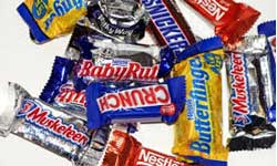 Miniature Chocolate Candy Bars Assortment