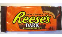 Reeses Peanut Butter Cups Dark Chocolate