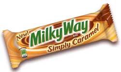 Simply Caramel Milky Way Candy Bars