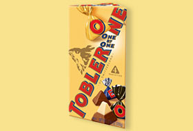 TOBLERONE ONE BY ONE STAND UP BAG