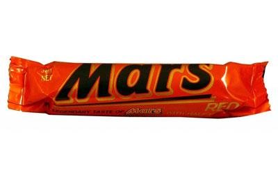 mars bar red