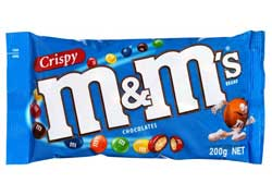 M&M Chocolate Brands List