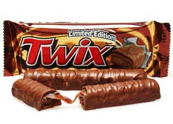 Twix Chocolate Brand List