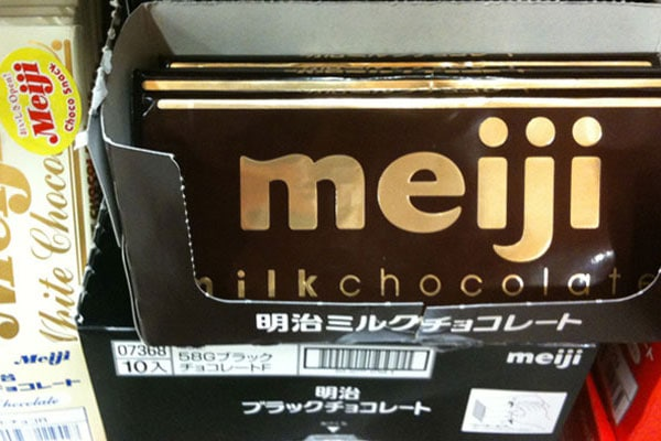 Meiji Chocolate Brands