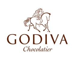 Godiva Chocolatier official logo of the company