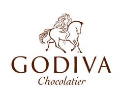 Godiva Chocolatier official logo of the company