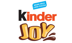 kinder joy official logo of the company