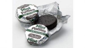 mint patties chocolate type pearson