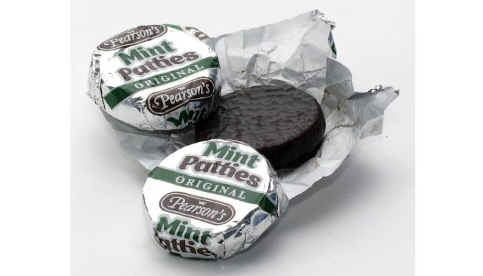 mint patties chocolate type pearson