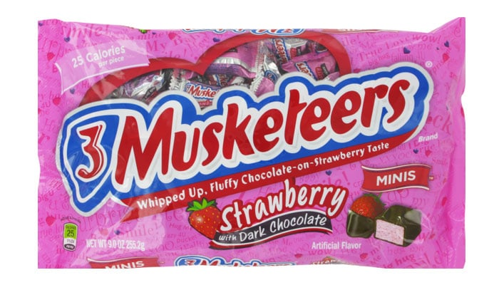 3 Musketeers Chocolate Strawberry Brownie