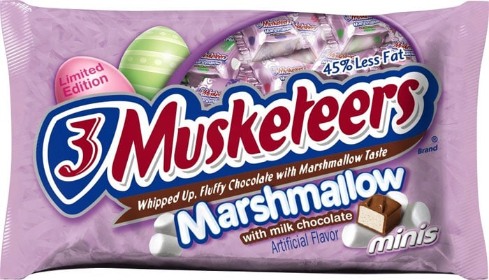 3 Musketeers Limited Marshmallow