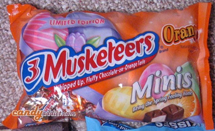 3 Musketeers Orange