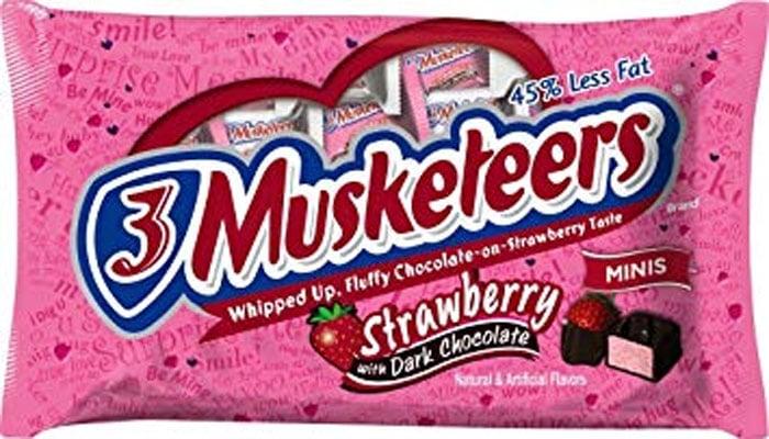 3 Musketeers Raspberry