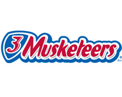 3 musketeers official logo of the company