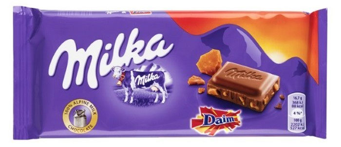 milka bars variant