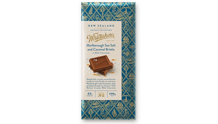 Marlborough Sea Salt & Caramel Brittle Block