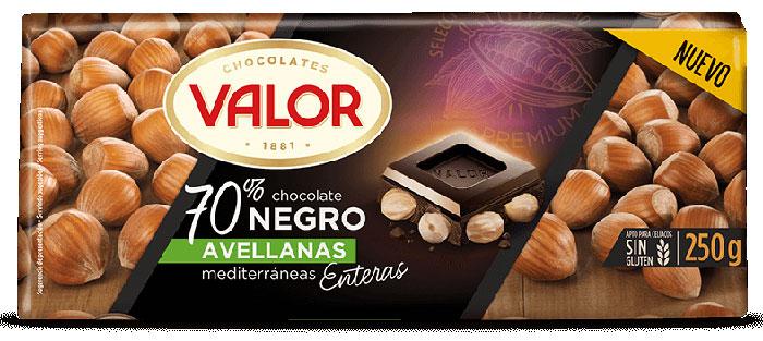 70% Dark Chocolate with Hazelnuts