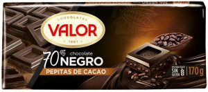 70% Dark Chocolate with Cocoa Beans