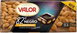 Dark Chocolate 82% Cocoa with Almonds