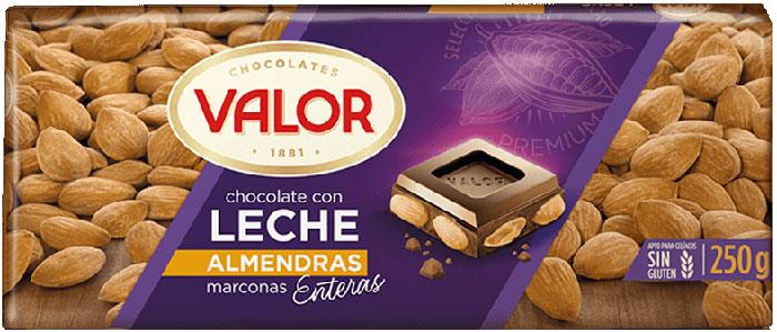 Milk Chocolate with Mediterranean Almonds