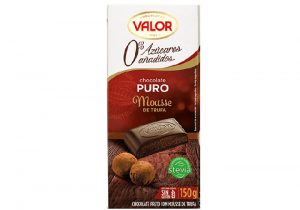 Pure Chocolate with Truffle Mousse 0% Sugar Added