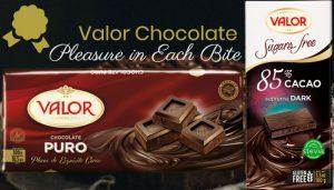 Valor Chocolate: Pleasure in Each Bite