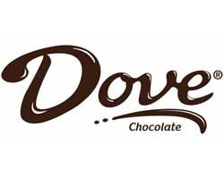dove chocolate officia logo of the company