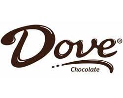 dove chocolate officia logo of the company