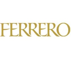 ferrero official logo of the company