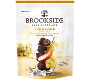 Brookside Dark Chocolate Vineyard Inspired Chardonnay Grape & Peach Flavors