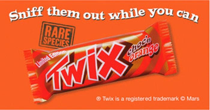 Choc 'N' Orange Twix