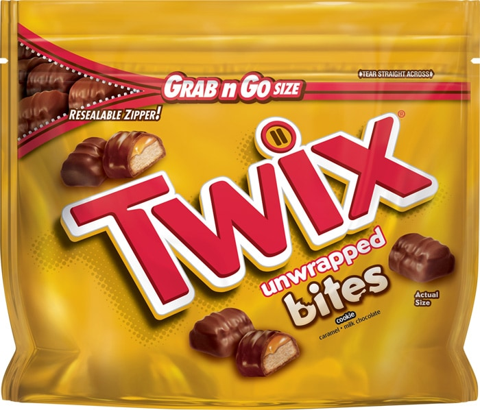 Twix Milk Chocolate Bites