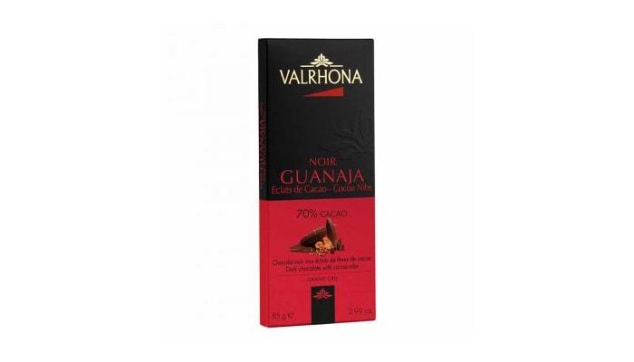 Valrhona GUANAJA 70% WITH COCOA NIBS