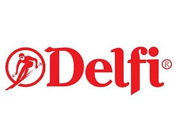 delfi official logo of the company