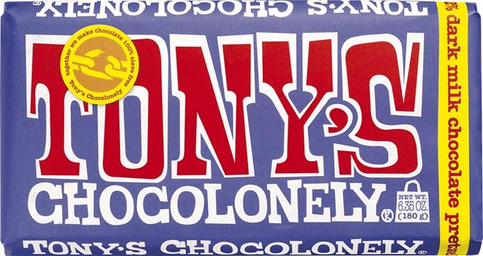 Tony's Chocolonely Dark Milk Pretzel Toffee