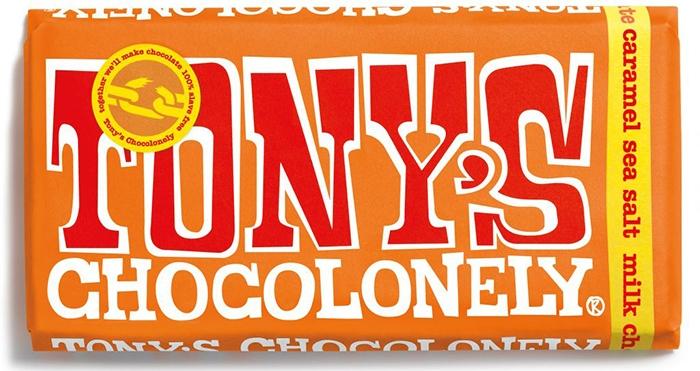 Tony's Chocolonely Milk Caramel Sea Salt