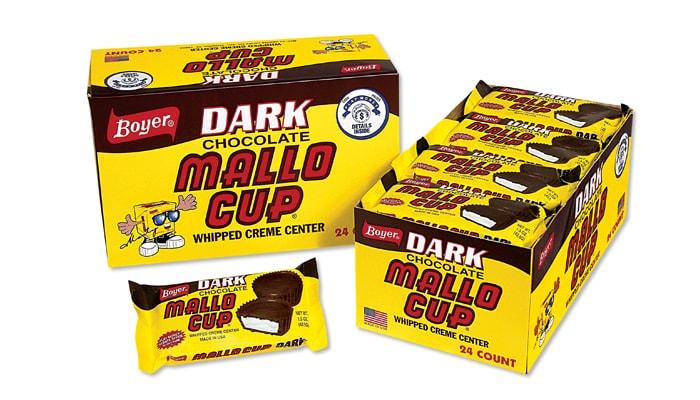 Boyer Dark Chocolate Mallo Cups