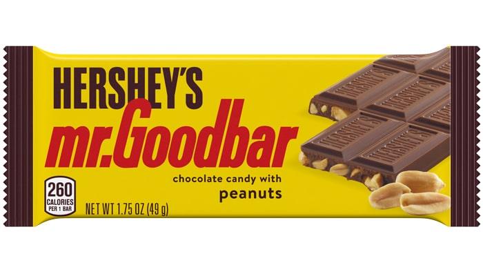 HERSHEY'S MR. GOODBAR Milk Chocolate with Peanuts Candy Bar